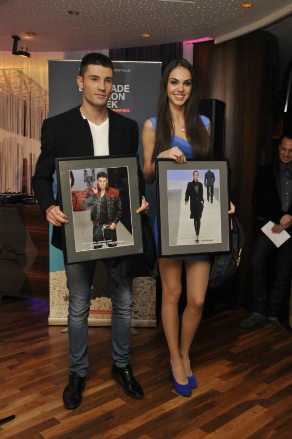 Najbolji maneken i manekenka 32. Belgrade Fashion Week: Dodela nagrada