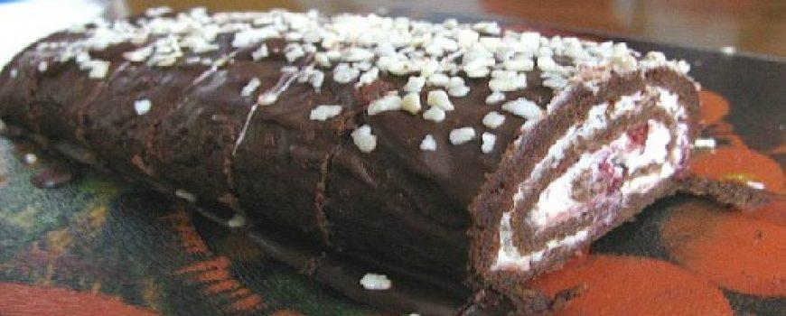 Ukusne poslastice: Božanski čokoladni rolat