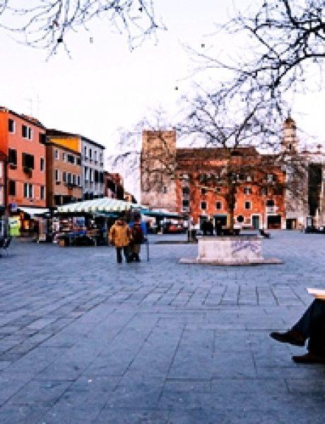 Trk na trg: Campo Santa Margherita, Venecija