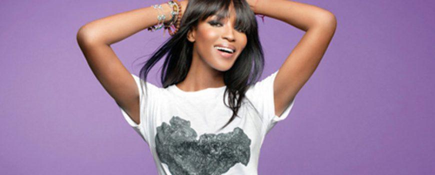 Modni zalogaj: Dobrotvorne majice Naomi Campbell