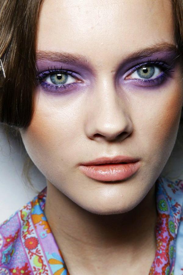 SLIKA 4 Sedam make up trikova za smeđe zelene oči