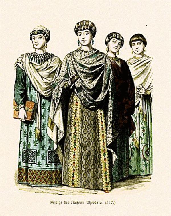 SLIKA 56 Istorija mode: Vizantija