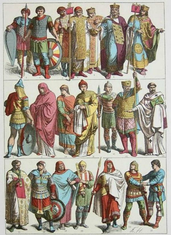 SLIKA 65 Istorija mode: Vizantija