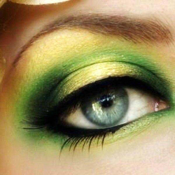 SLIKA 72 Sedam make up trikova za smeđe zelene oči