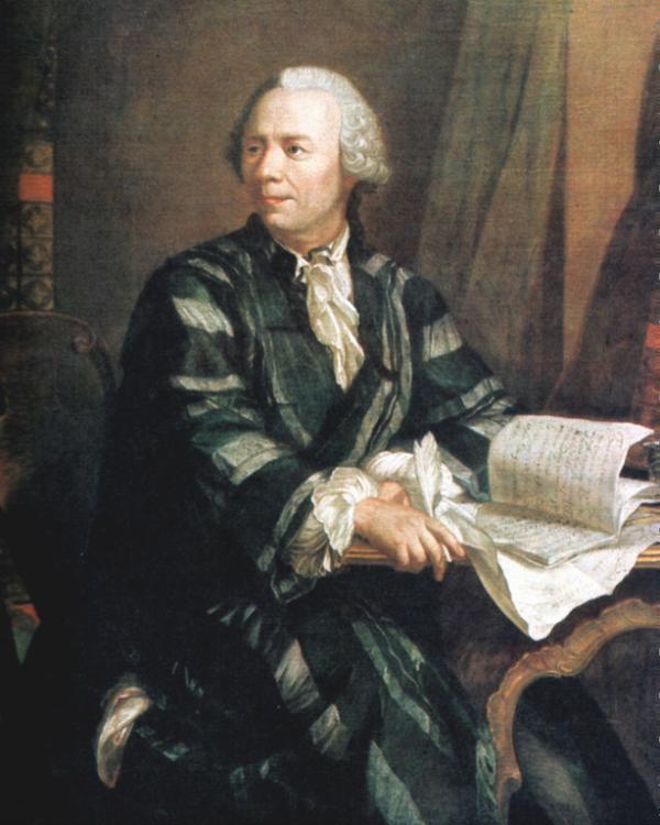 Slika 1 Ljudi koji su pomerali granice: Leonhard Euler