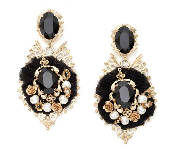 Slika 168 Aksesoar dana: Minđuše Dolce & Gabbana