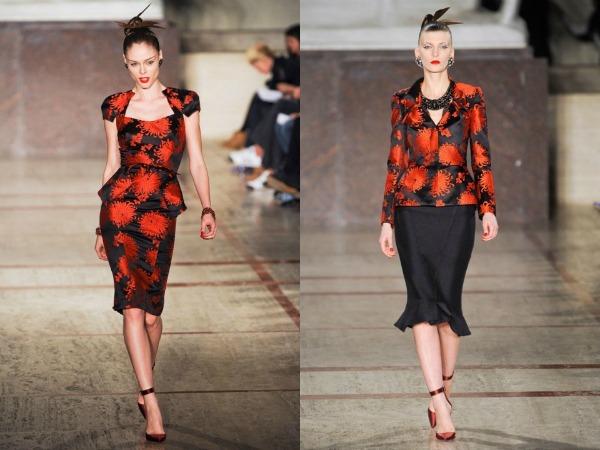 Slika 187 Jesen i zima na modnim pistama: Zac Posen