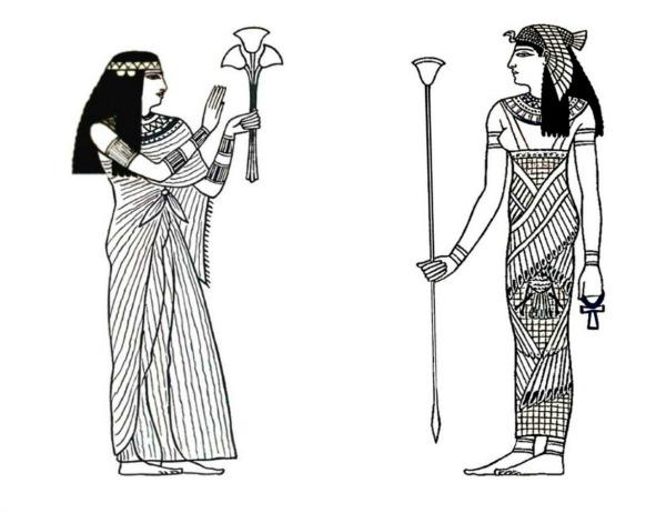 Slika 26 Istorija mode: Egipat