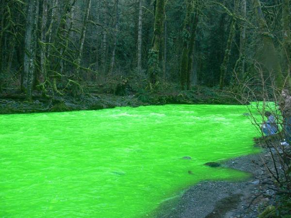 Slika 357 Čudo Kanade, neonska reka