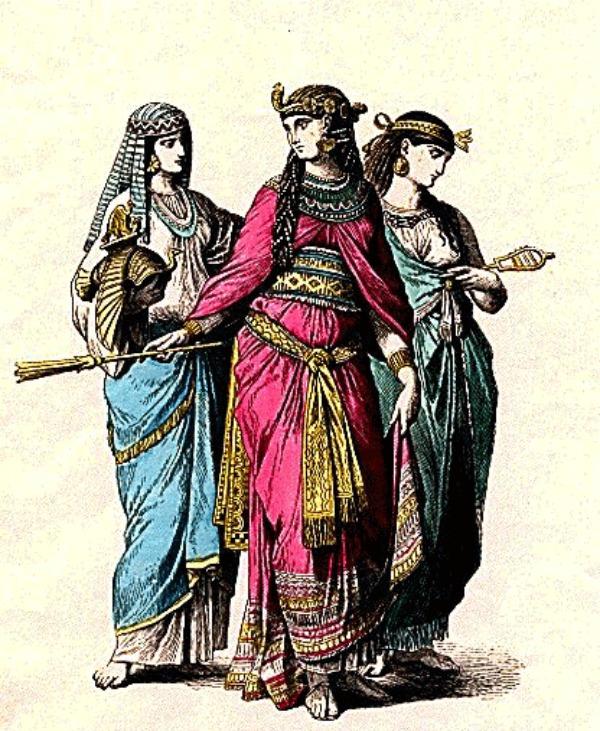 Slika 36 Istorija mode: Egipat