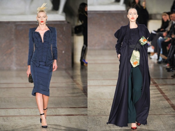 Slika 537 Jesen i zima na modnim pistama: Zac Posen