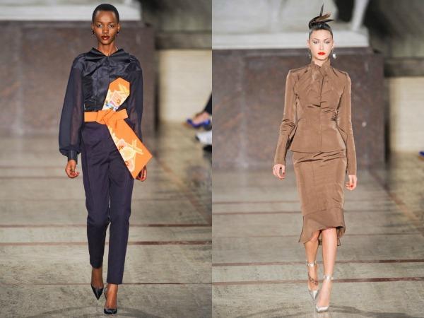 Slika 628 Jesen i zima na modnim pistama: Zac Posen