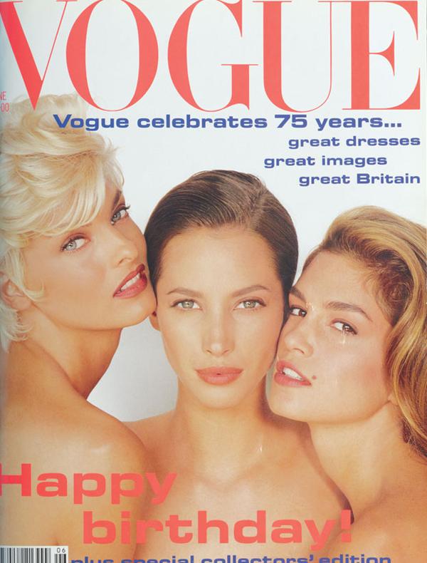 VogueCoverJun91 XL Moda na naslovnici: Srećan rođendan Vogue!