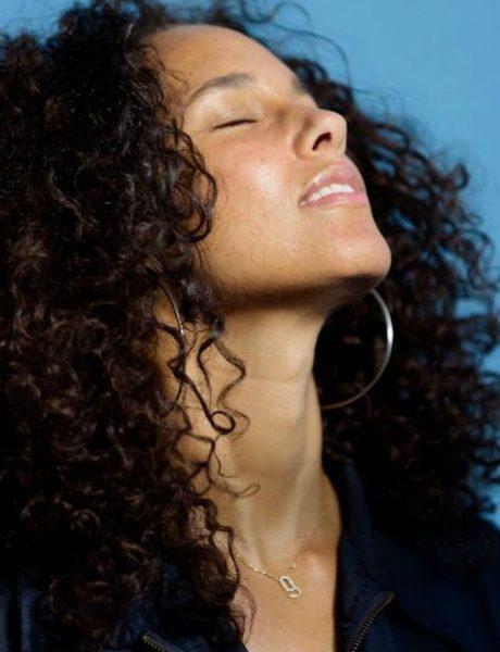 Stil šminkanja: Alicia Keys