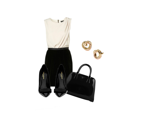 lodd1 Look of the Day: Crna i bela