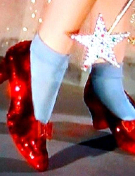"The Best Fashion Moments: Čari crvenih cipelica iz filma ""Čarobnjak iz Oza"""