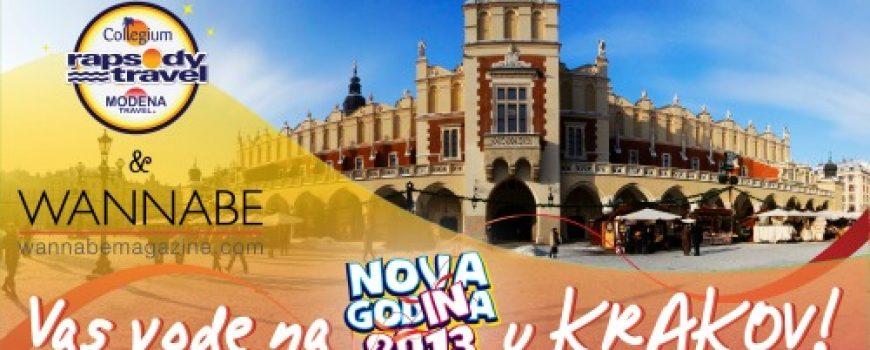 Wannabe Magazine & Rapsody Travel vode vas na doček 2013. u Krakov!