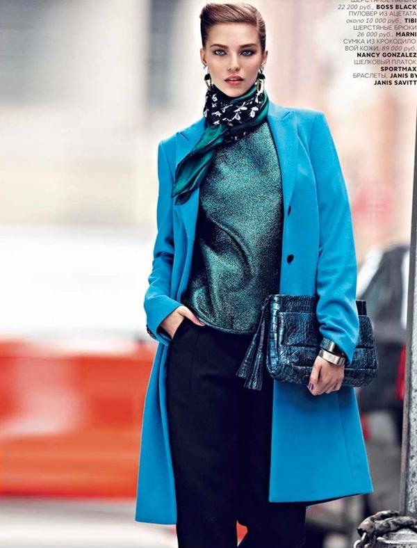"slika 117 ""Vogue Russia"": Njegovo veličanstvo kaput"