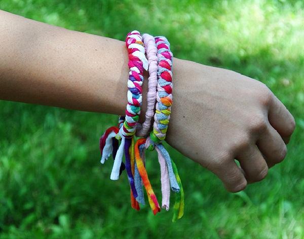 slika 119 Uradi sama: Šarene narukvice