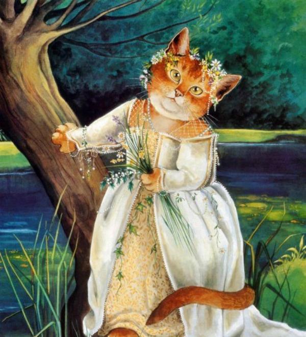 slika 146 Mačke u ulozi Šekspirovih junaka
