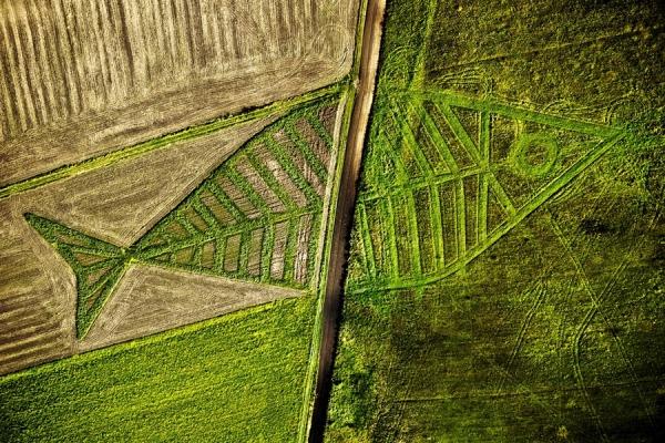 slika 2 Nisu vanzemaljci, to je land art!