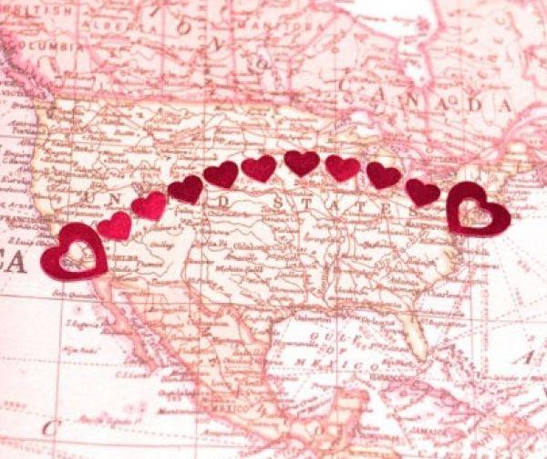 Daljina nas deli, a ljubav spaja