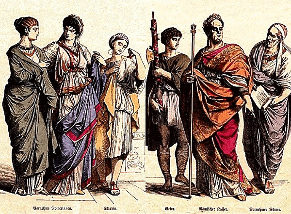 slika 312 Istorija mode: Stari Rim