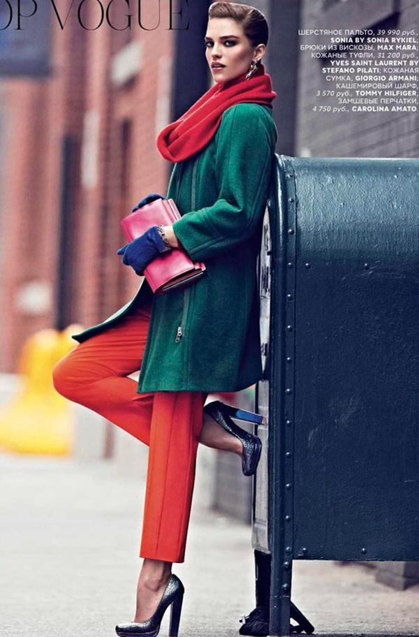 "slika 410 ""Vogue Russia"": Njegovo veličanstvo kaput"