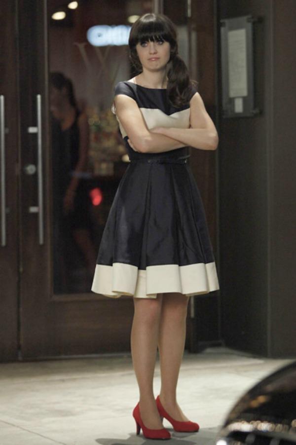 slika 412 10 haljina: Zooey Deschanel
