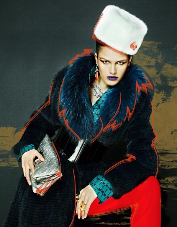 slika 427 Interview Russia: Skicirana moda