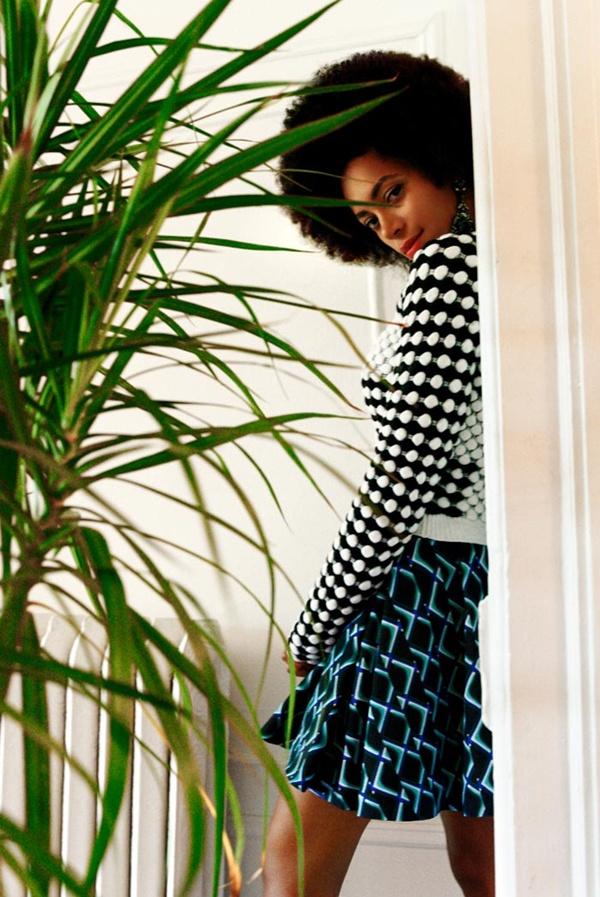 "slika 428 ""Rika Magazine"": Eklektični stil Solange Knowles"