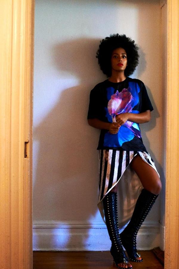 "slika 530 ""Rika Magazine"": Eklektični stil Solange Knowles"
