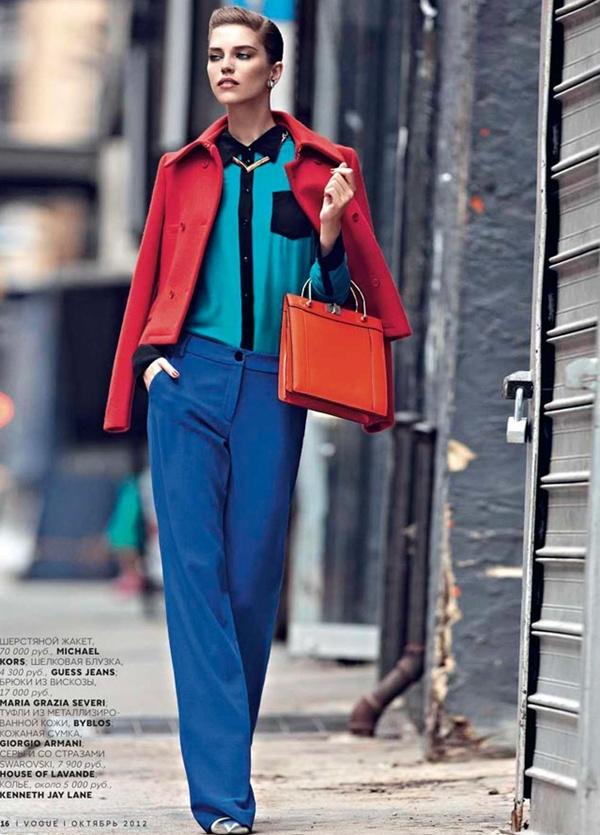 "slika 59 ""Vogue Russia"": Njegovo veličanstvo kaput"