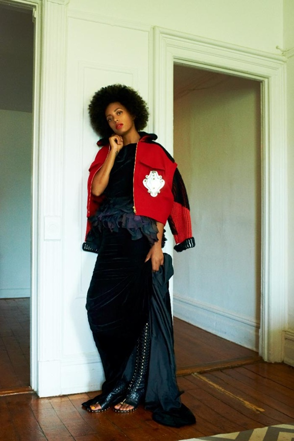 "slika 619 ""Rika Magazine"": Eklektični stil Solange Knowles"