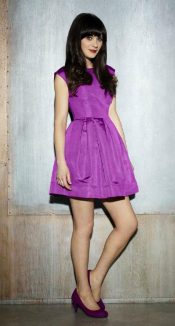 slika 95 10 haljina: Zooey Deschanel