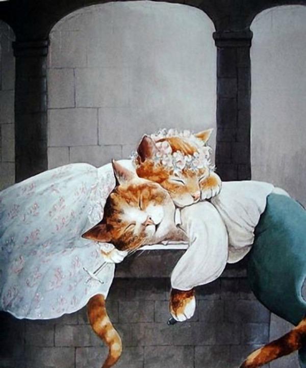 slika218 Mačke u ulozi Šekspirovih junaka