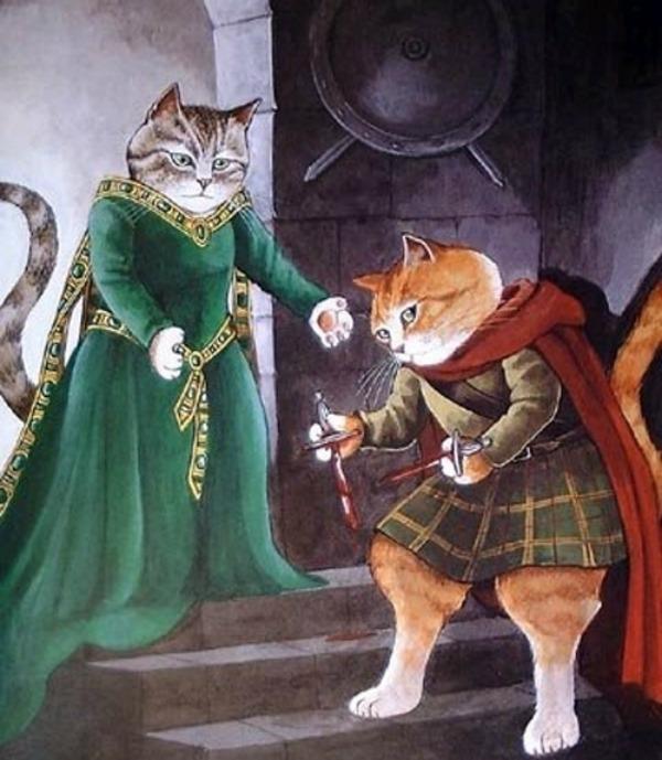 slika316 Mačke u ulozi Šekspirovih junaka