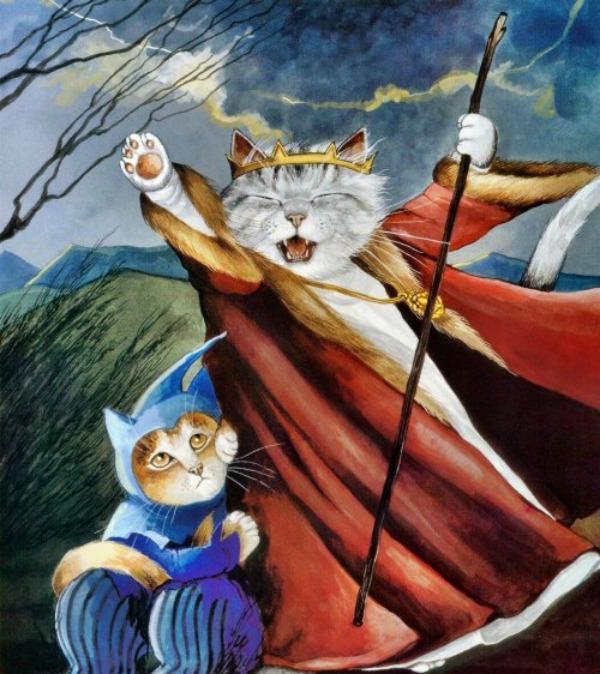 slika415 Mačke u ulozi Šekspirovih junaka