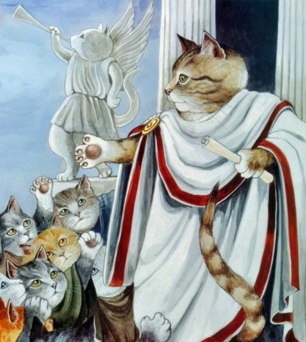 slika514 Mačke u ulozi Šekspirovih junaka
