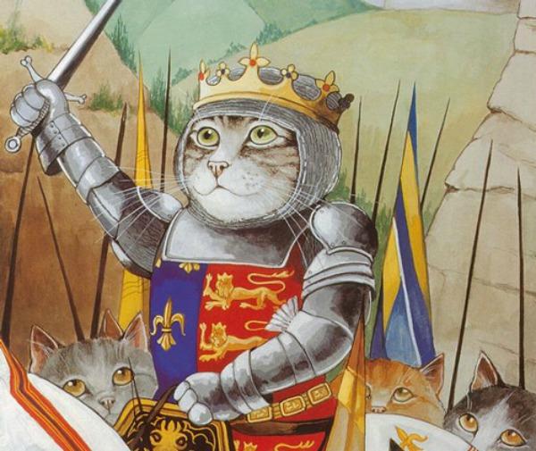 slika610 Mačke u ulozi Šekspirovih junaka