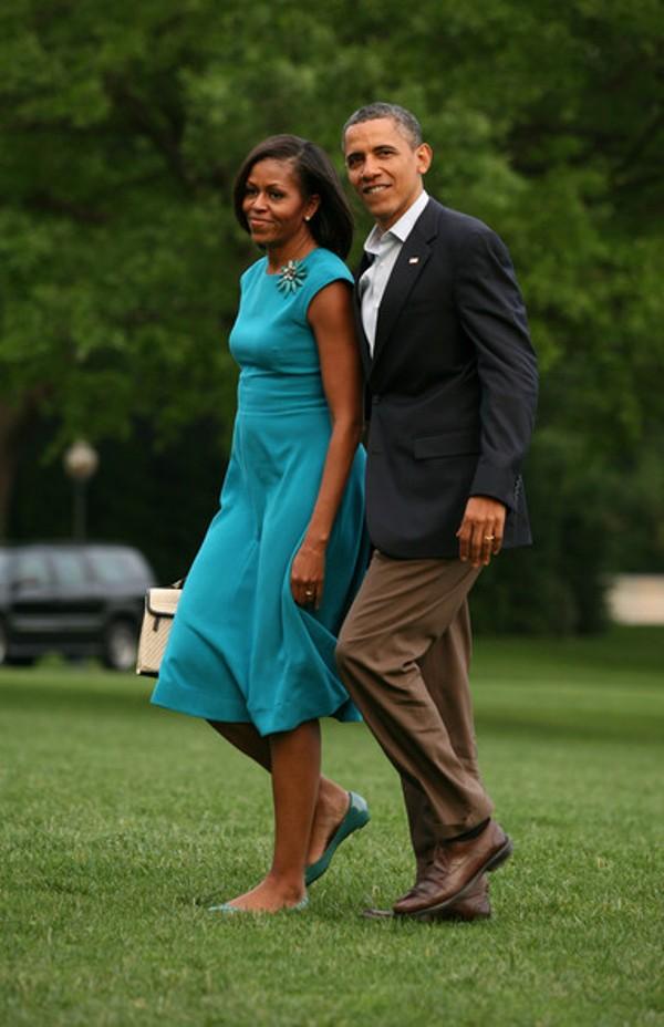 1.10 10 haljina: Michelle Obama