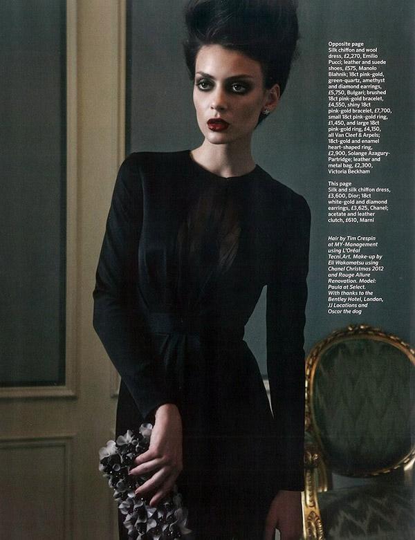 "125 ""Marie Claire UK"": Prefinjena lepota"