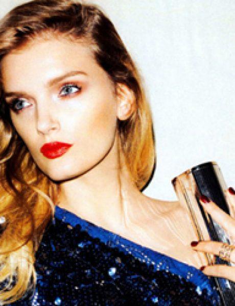 """Harper's Bazaar US"": Devojka sa crvenim karminom"