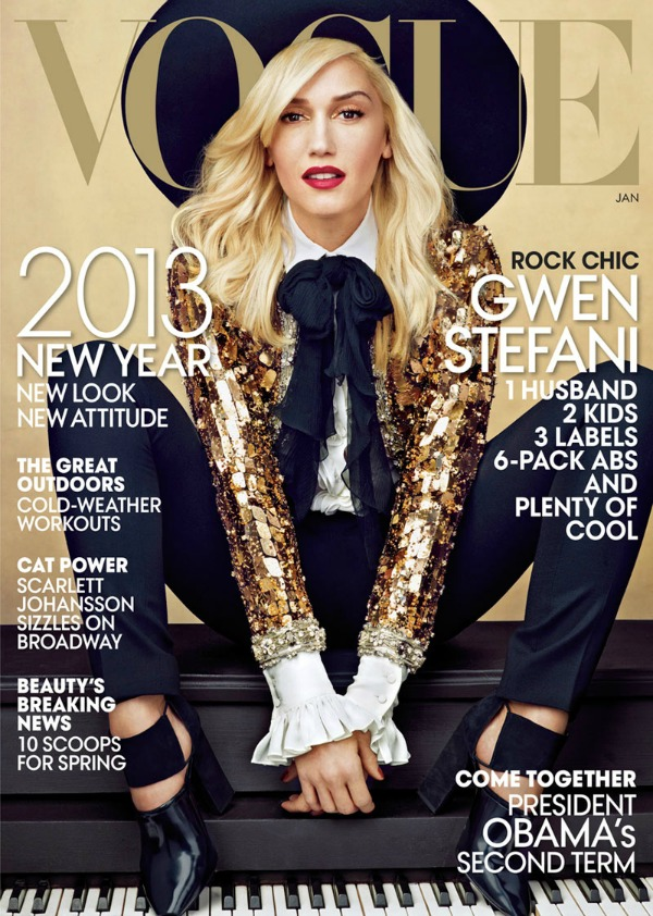 "142 Modni zalogaj: Gwen Stefani za američki ""Vogue"