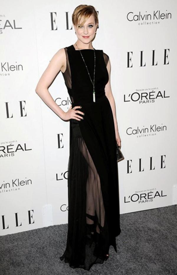 3.2 10 haljina: Evan Rachel Wood