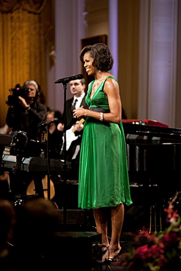 3.7 10 haljina: Michelle Obama
