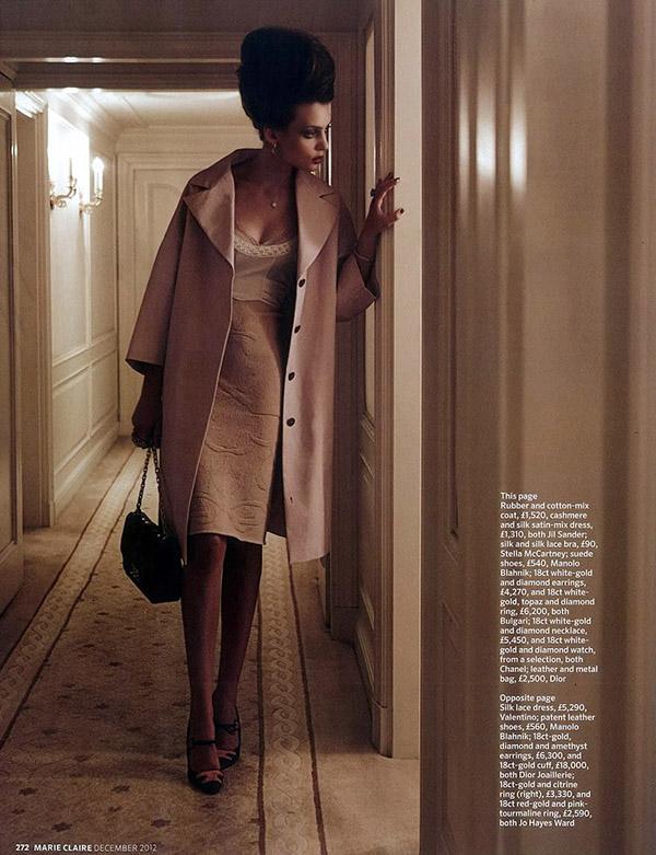 "315 ""Marie Claire UK"": Prefinjena lepota"