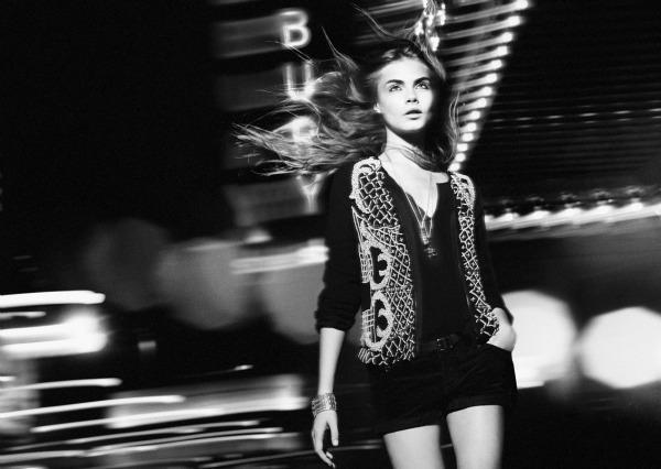 4 Zara TRF: Cara Delevigne u gradu