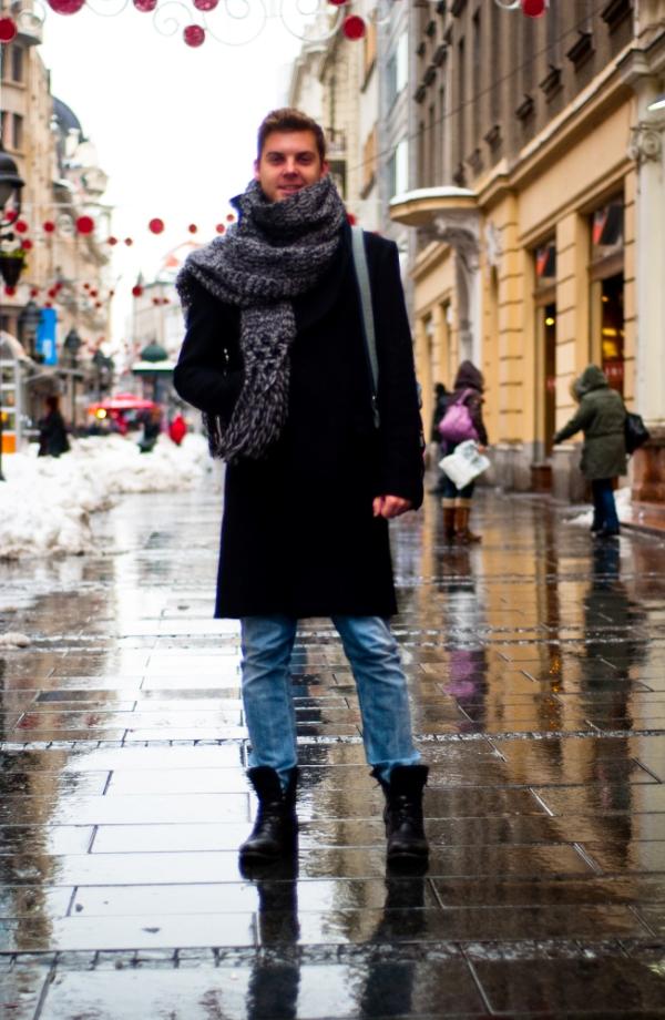 518 Belgrade Style Catcher: Zima nad Beogradom