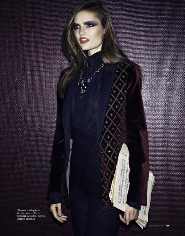 54 Elle Russia: Vrhunska elegancija
